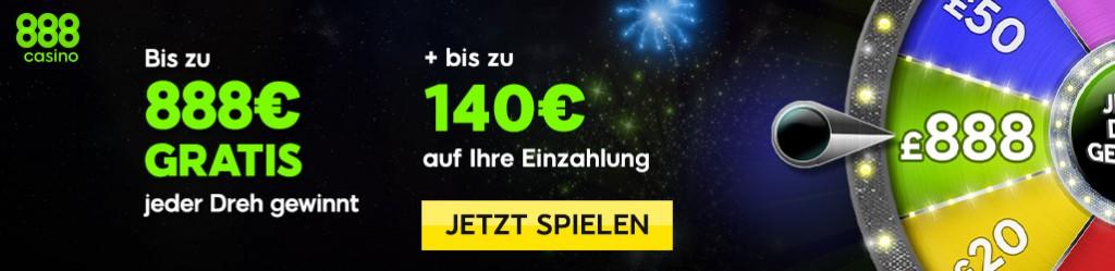 Blackjack online spielen im 888 Online Casino