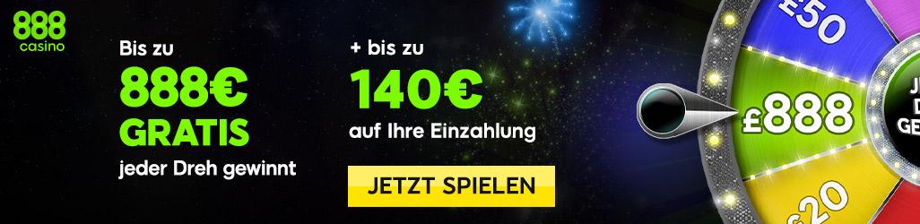 kostenlos Blackjack spielen im 888 Online Casino