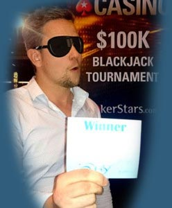 "Autor von ""Blackjack Winner"" - Radek Vegas"