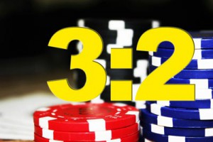 Blackjack Auszahlungsverhältnis 3:2 Payout