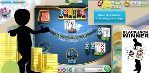 Blackjack - MyVegas Facebook 1 Million gewinnen