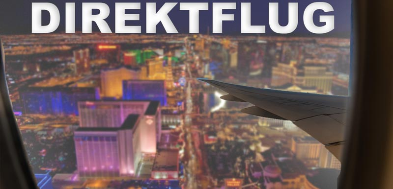 Direktflug mit Condor von München nach Las Vegas Nonstop