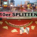 Wann man beim Blackjack 10er splitten sollte!