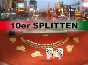 Wann man beim Blackjack 10er splitten sollte