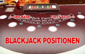 Blackjack Position 3rd Base oder First Base