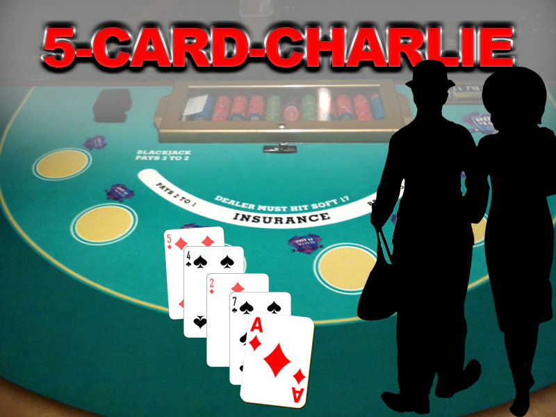Blackjack 5-Card-Charlie Regel-Variante