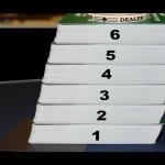 Blackjack 6-Deck-Spiel – Standard-Blackjack mit 6 Kartendecks im Schlitten
