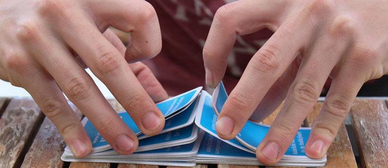 Blackjack 6 Deck Spiel Mischen