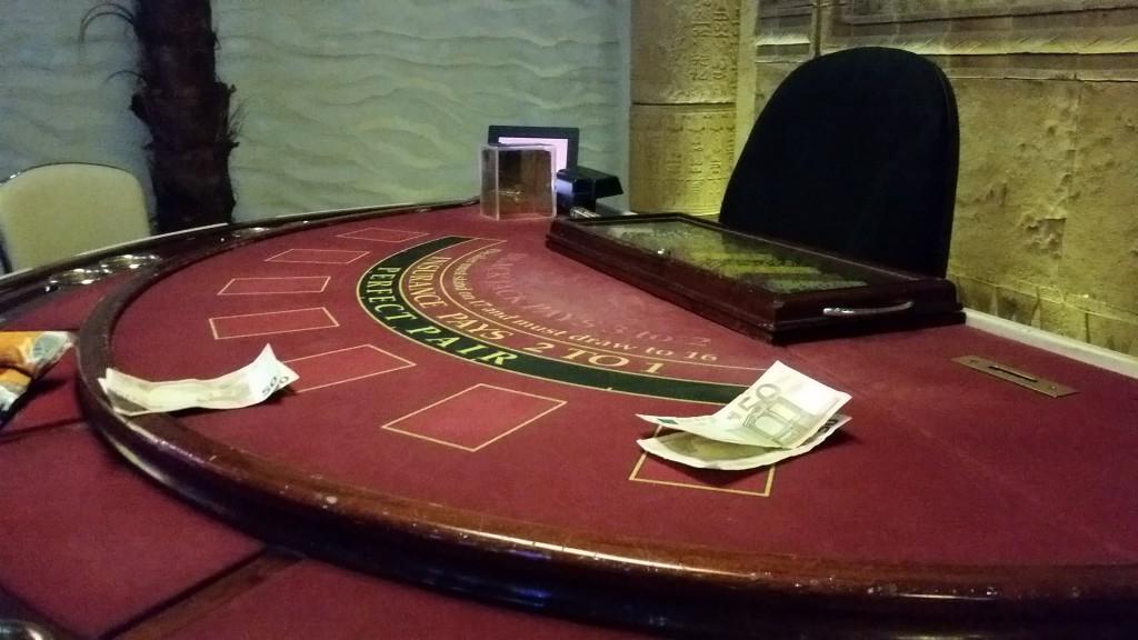 Blackjack Tisch - Casino of Ra - Folmava / Tschechien