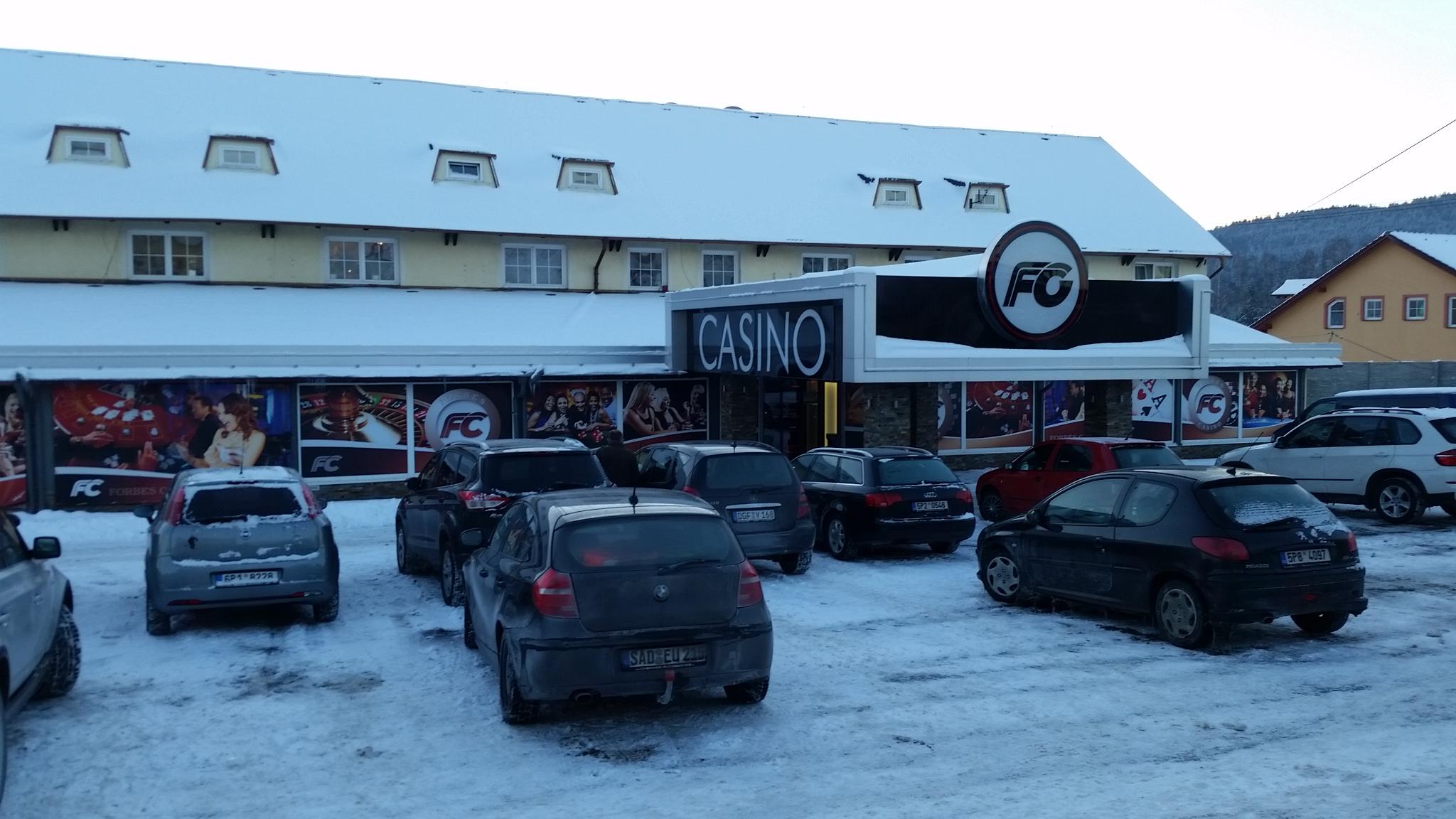 Blackjack im Forbes Casino Folmava / Tschechien