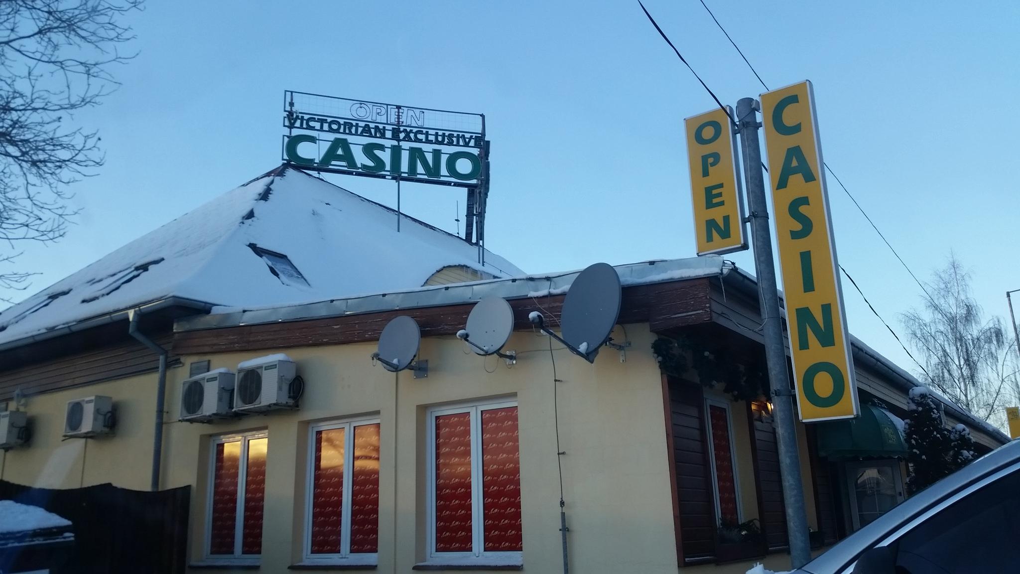 Blackjack im Victorian Casino in Folmava / Tschechien