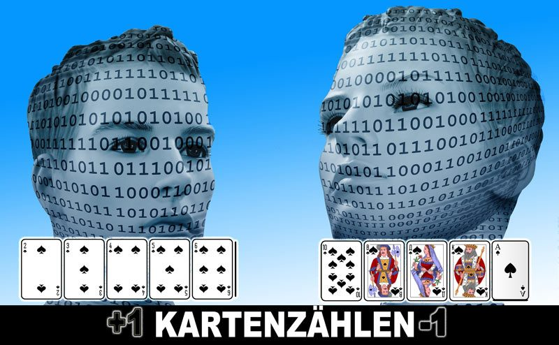 Karten zählen beim Blackjack und gewinnen