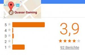 Online Casino Quasar Gaming Bewertungen