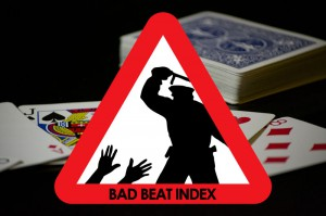 Bad Beat Index von Radek Vegas beim Blackjack
