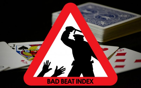 Bad Beat Index von Radek Vegas beim Blackjack