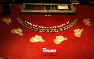 Roulette table app