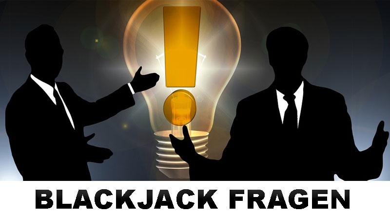 Blackjack Frage und Antwort