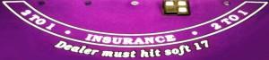 Blackjack Versicherung abschließen - Insurance 2 to 1