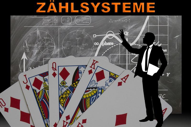 Blackjack Zählsystem – Verschiedene Arten des Kartenzählens