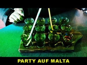 Shots in St. Julians Partymeile Paceville