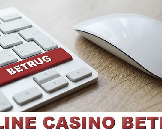 online casinos betrug