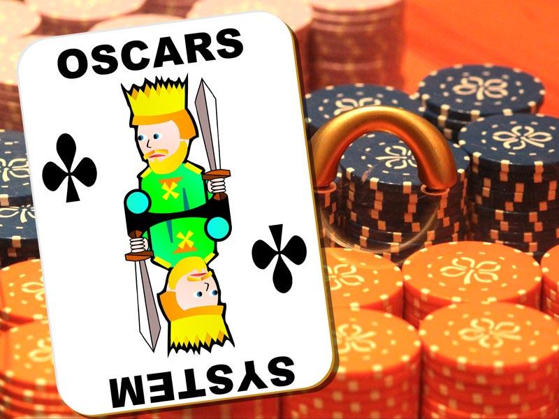 Oscars System beim Blackjack im Online Casino
