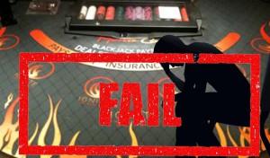 Teure Blackjack Fehler