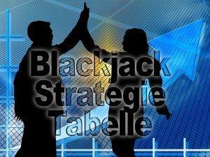 Chancen und Wahrscheinlichkeiten der Blackjack Strategie Tabelle