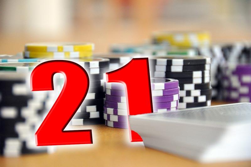 21 Kartenspiel