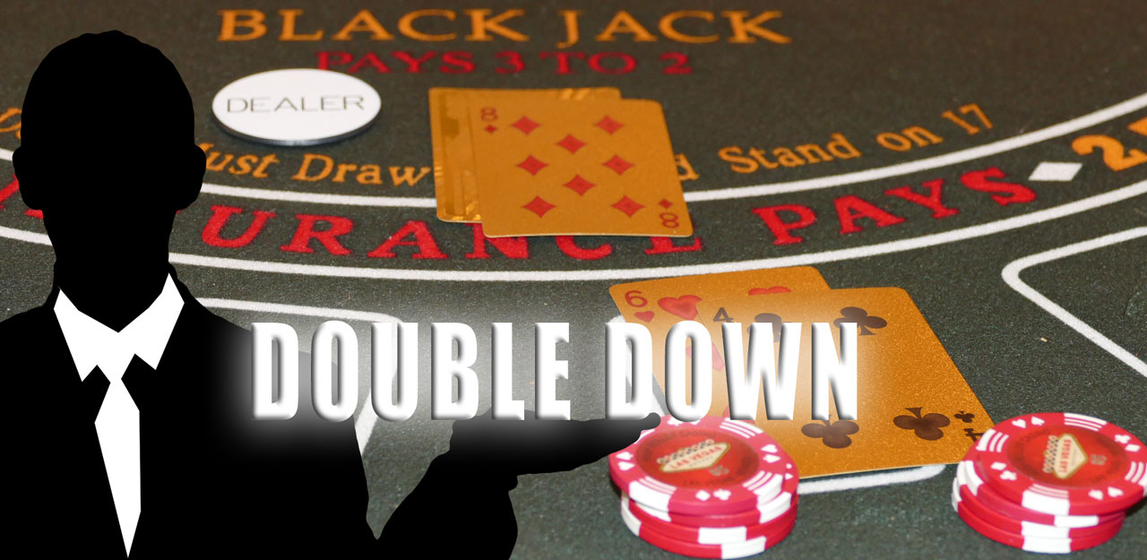 blackjack double down