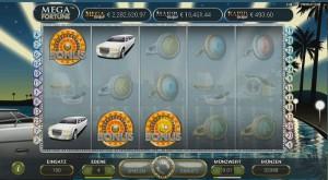 Bonus-Modus im Mega Fortuna Jackpot Slot