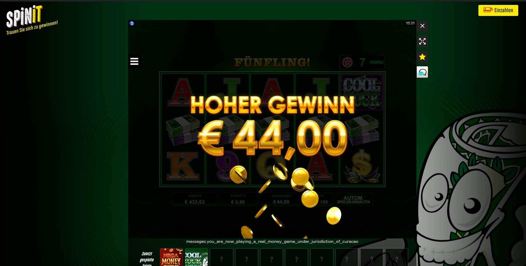 test online casinos
