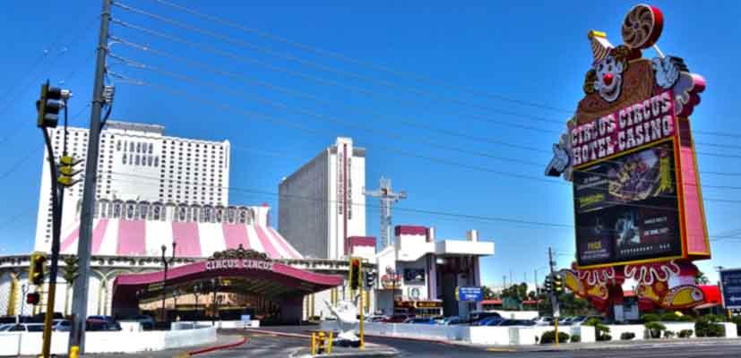 Blackjack im Circus Circus Las Vegas
