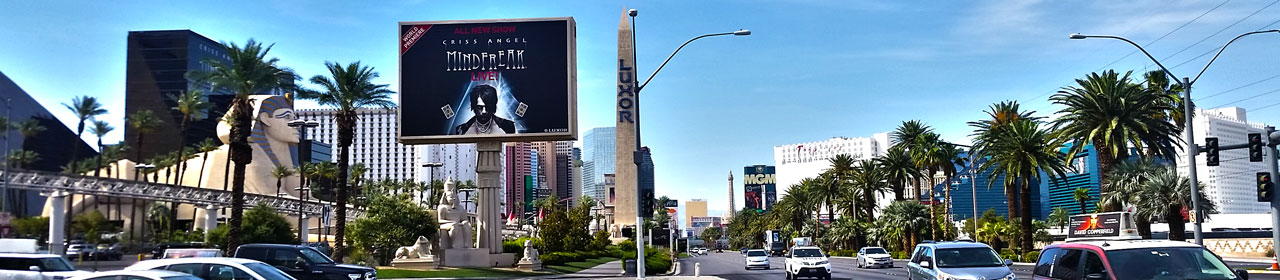 Blackjack am Las Vegas Strip South