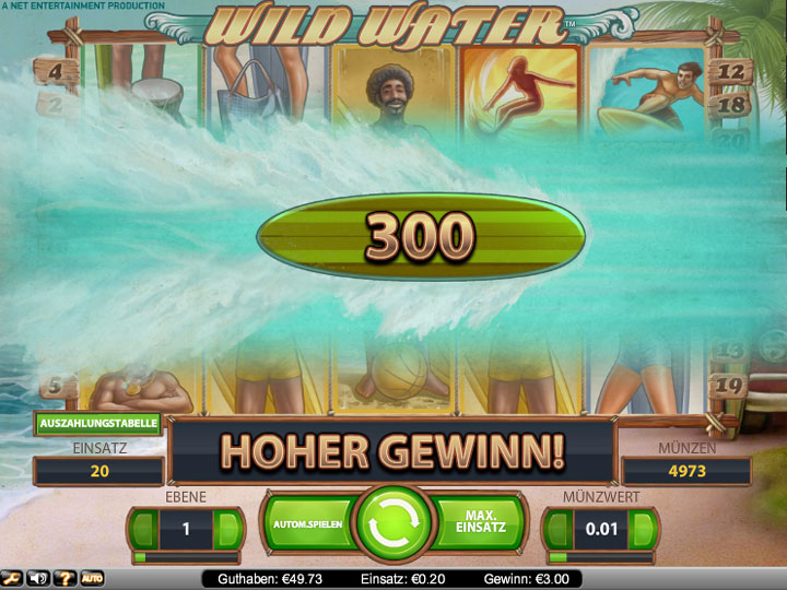 Online Casino Slot Wild Water