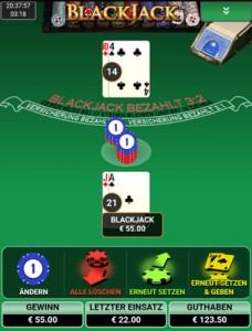 Radek Vegas im Blackjack Battle gegen Mr Green