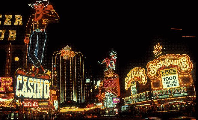 Las Vegas Downtown in der Vergangenheit