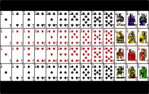 Wieviele Karten werden beim Blackjack verwendet?