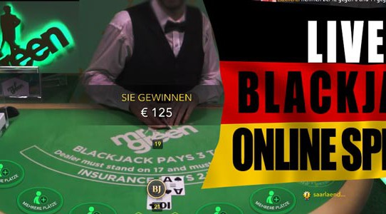 Live Blackjack online spielen im Mr Green Casino