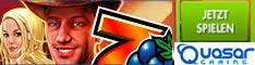 Banner für Blackjack im Online Casino Quasar