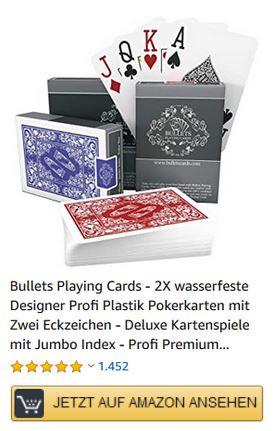 Blackjack Karten kaufen