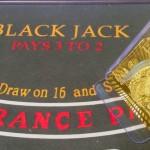 Der Kartenschlitten – Austeilen der Karten beim Blackjack