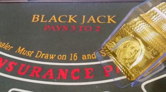 Blackjack Dealer-Schuh - Kartenschlitten