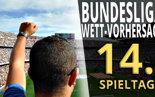 Sportwetten Bundesliga Vorhersage 14. Spieltag