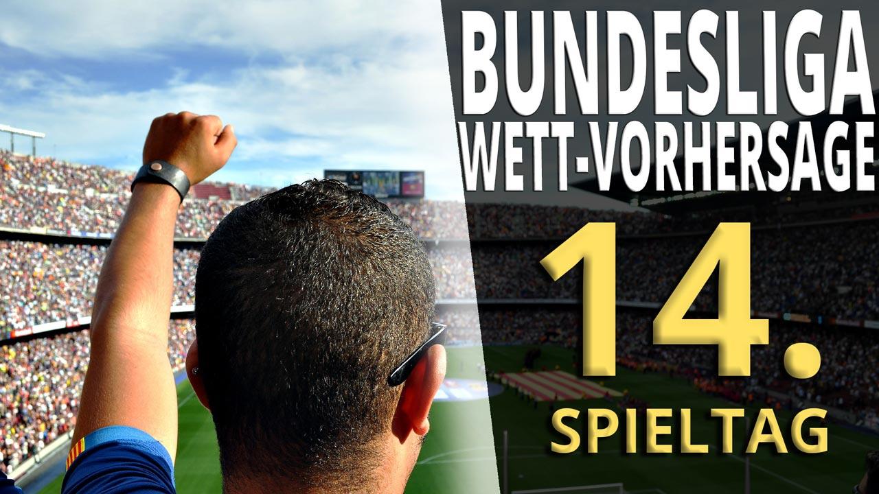 Bundesliga-Vorhersage für den 14. Spieltag