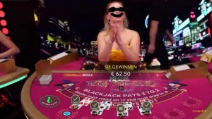Blackjack Dealer - Croupier im Casino