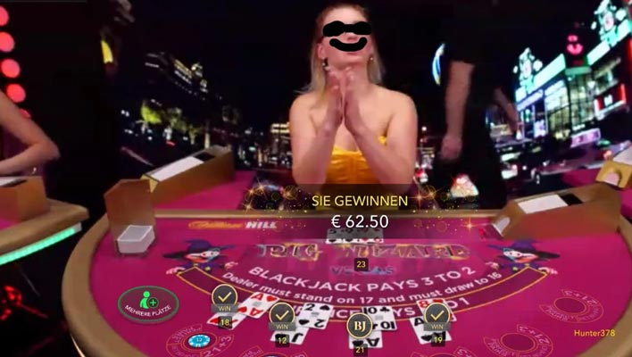 Der Croupier beim Blackjack – Dealer / Kartengeber