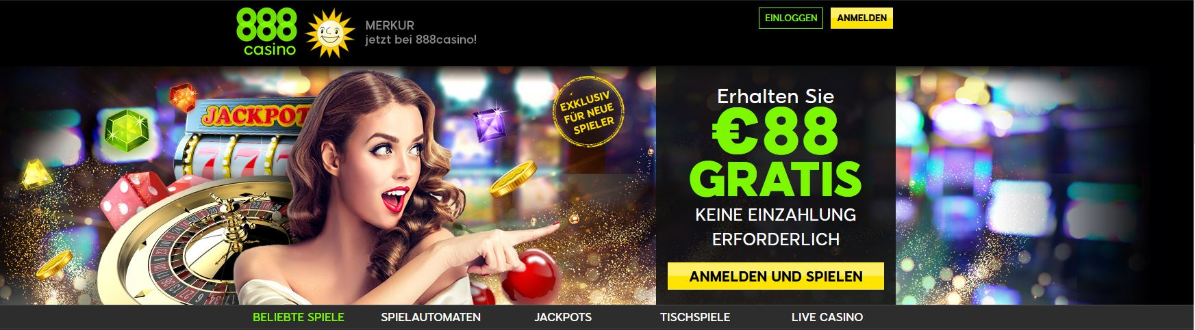 Live Blackjack im 888 Online Casino