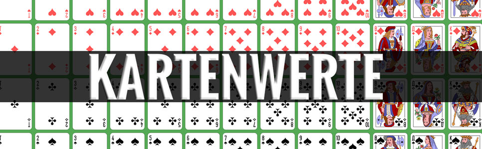 Blackjack Kartenwerte