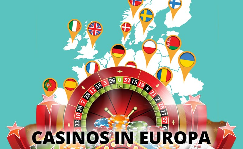 Casinos zum Blackjack spielen in Europa